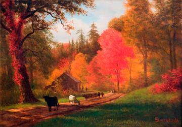 A Bierstadt Autumn View