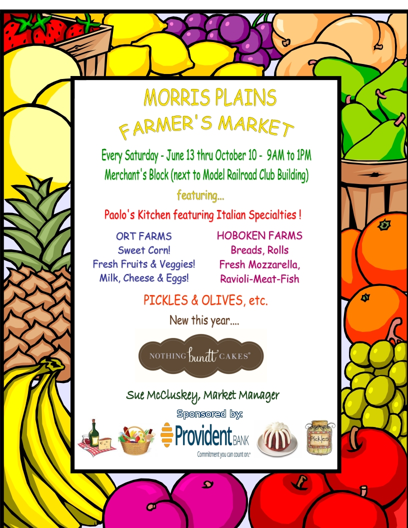 Click for Farmer's Market Flyer