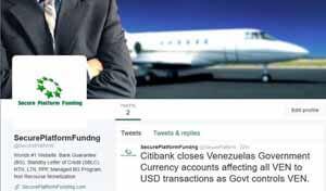Secure Platform Funding on Twitter
