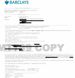 Another Fake BG Issuer Exposed Sending Forged Swifts