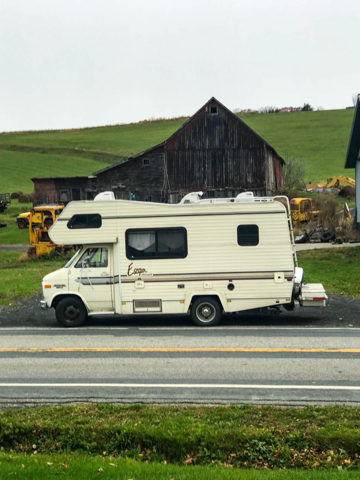 Travels in Marne's RV, Vermont
