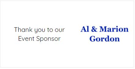 sponsor banner al and marion gordon