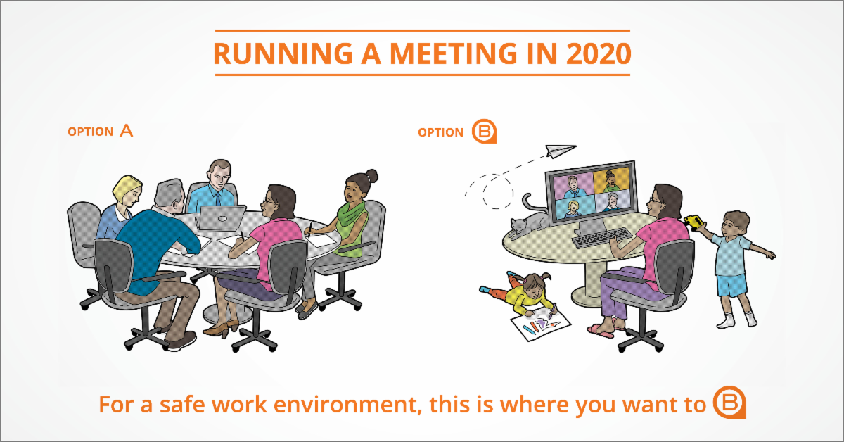 running a meeting in 2020
