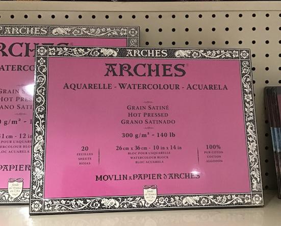 Arches Hot Press Blocks