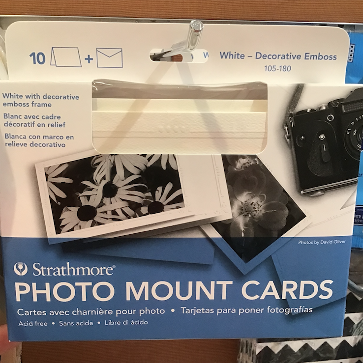 Mount Photos to Note Cards