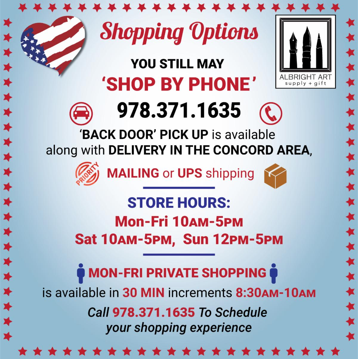 Shop by phone