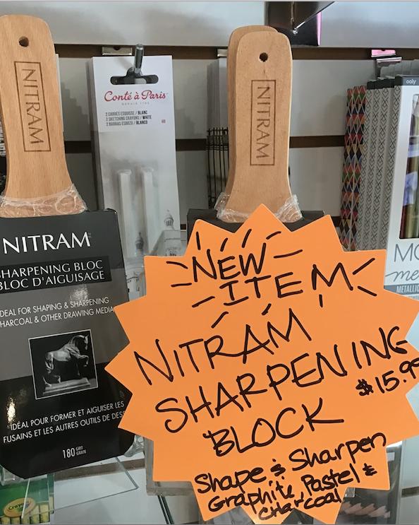 Nitram Sharpening Block
