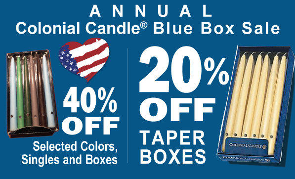 Candle SALE fall