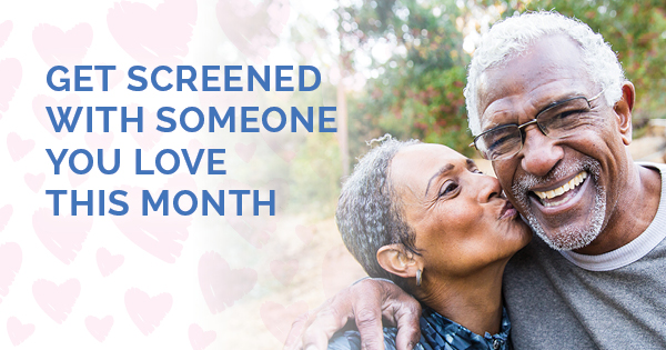 Happy Couple - Get Screened With Someone You Love This Month