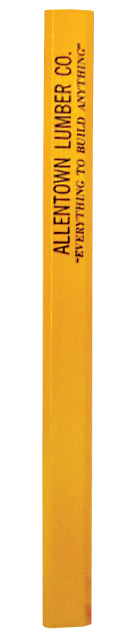 WA654 Flat Carpenter Pencil