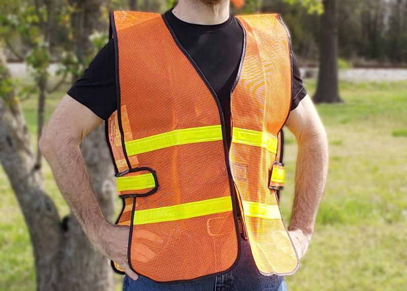 SV109 (L) • SV110 (XL) • SV111 (2XL) Mesh Safety Vest image