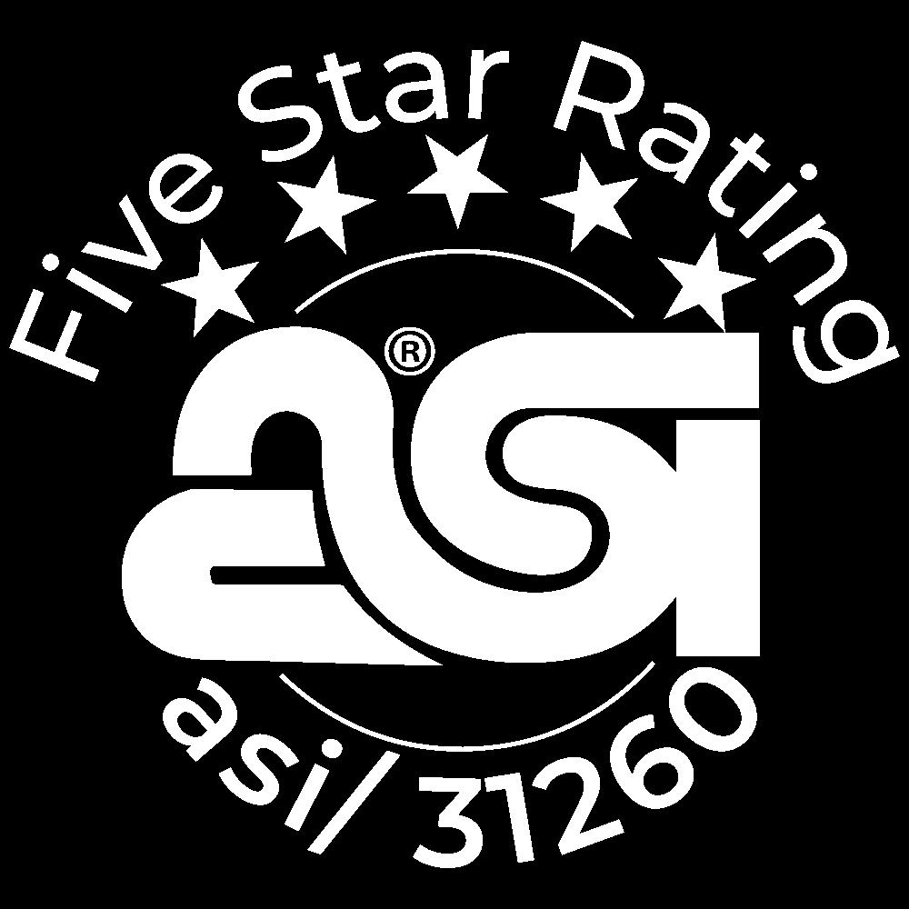5 Star ASI Rating (31260)