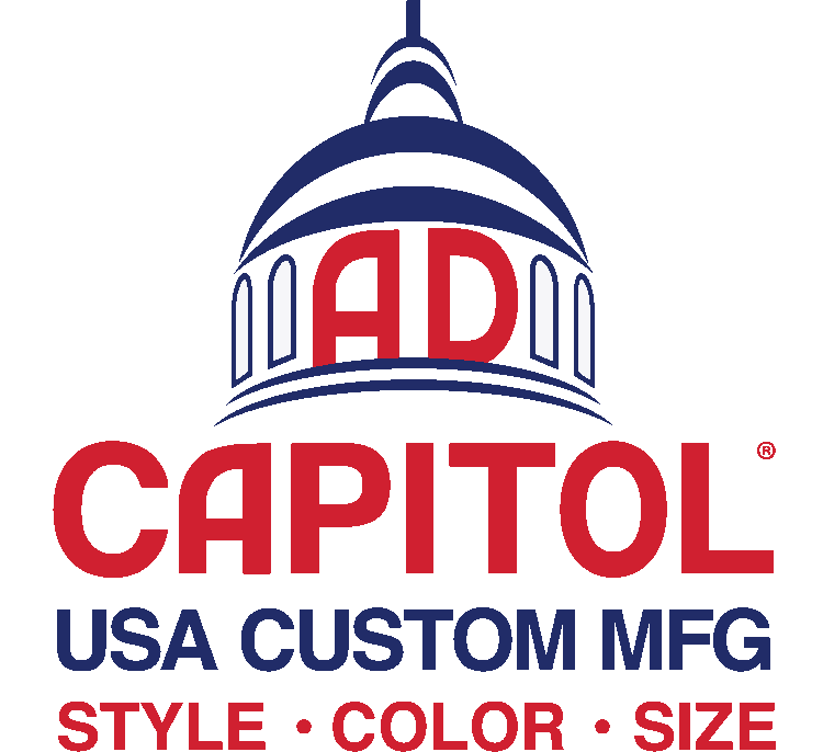 AdCapitol • USA CUSTOM MFG • Any Style • Any Color • Any Size