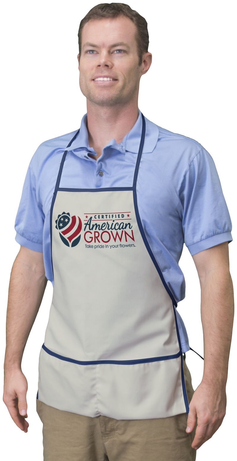 WA150 Natural Duck Apron As Low As $5.14 (R)