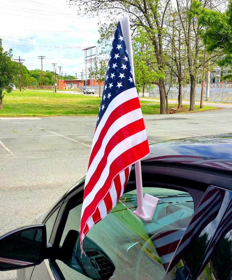 Car Flag on Car