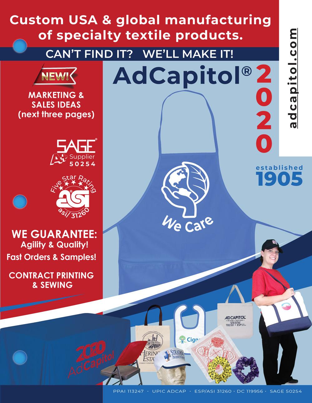 AdCapitol 2020 Catalog