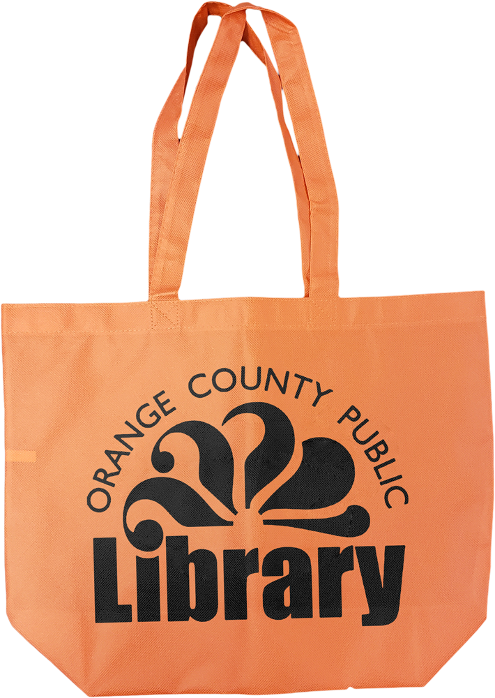 TB684 Orange Non-Woven Tote Bag