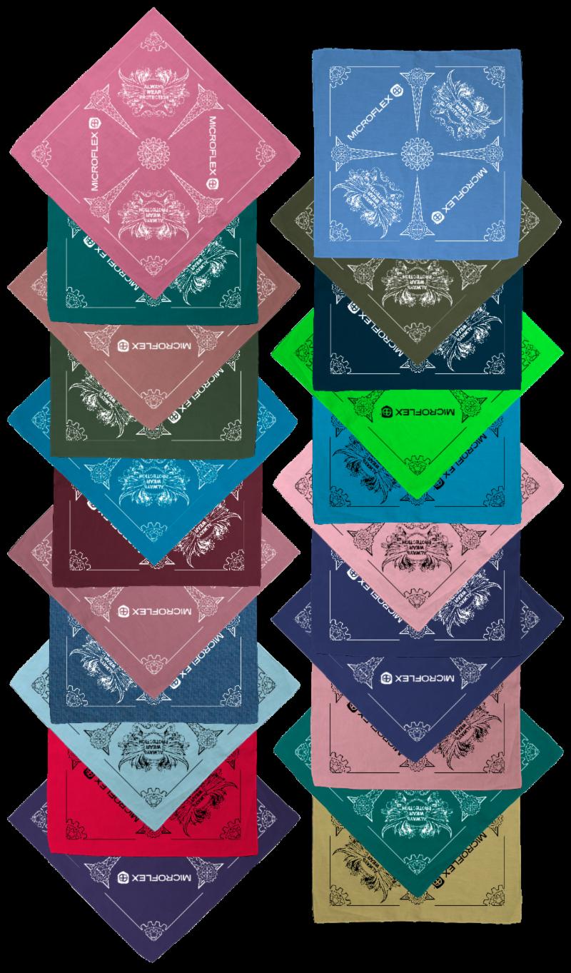 Cotton Candy (BA801) • Crystal Green (BA807) • Dark Dusty Rose (BA886) • Dark Olive (BA868) • Dark Peek-A-Blue (BA808) • Dark Ruby (BA872) • Dark Strawberry (BA887) • Denim Chambrey (BA822) • Frost Blue (BA840) • Fruit Punch (BA819) • Light Purple (BA855)