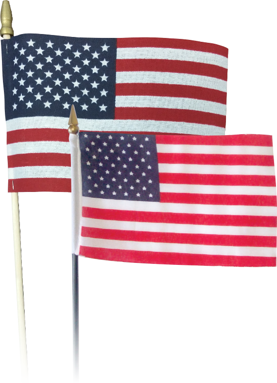 USA Stick Flags as low as $0.25 (R)!