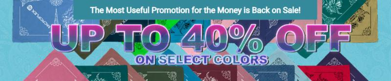 Up to 40% Off Bandannas on select colors