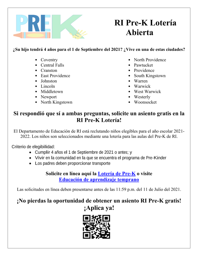 RI Pre-K Lottery Flyer_Spanish.png