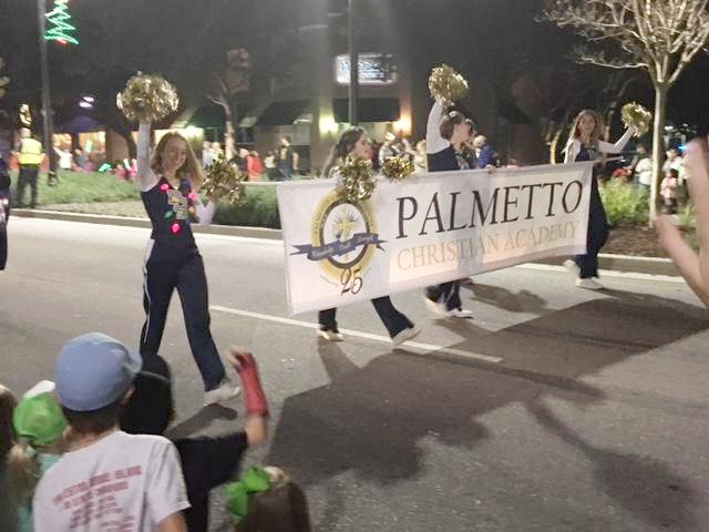 pca dazzles in mount pleasant christmas parade - Mount Pleasant Christmas Parade