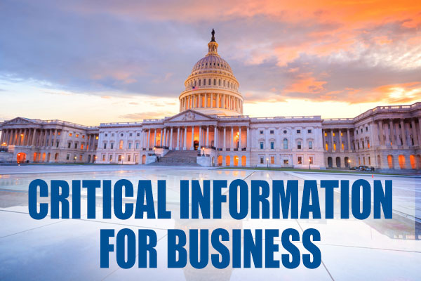 Critical Information for Businesses