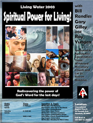 Living Water 2003