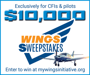 Wings Sweepstakes ad