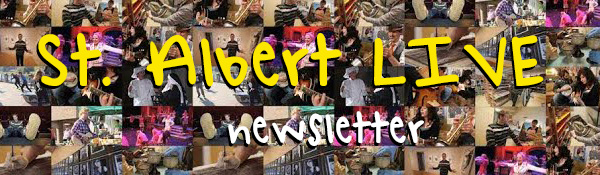 St. Albert LIVE Newsletter