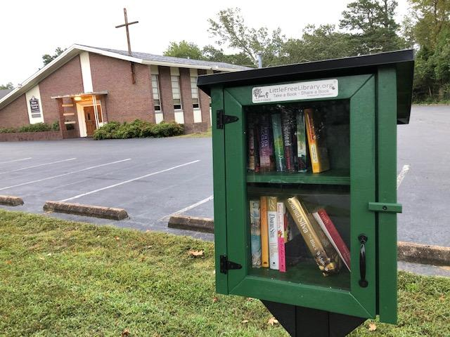 Little Library at HCC on James River Dr