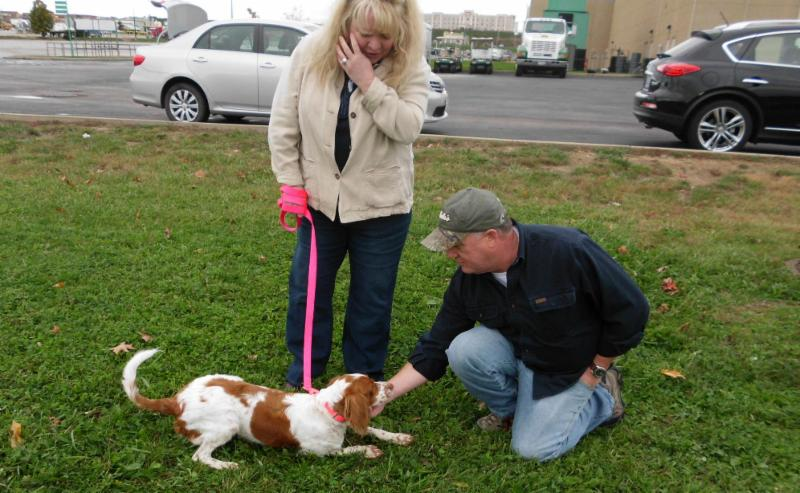 Bella Meeting Her New Parents