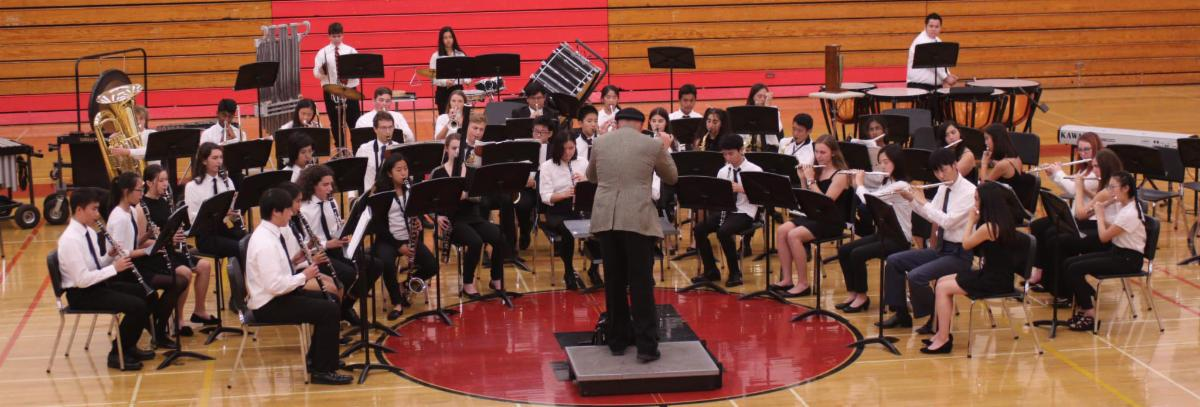 San Mateo High_s JAzz Band Performs