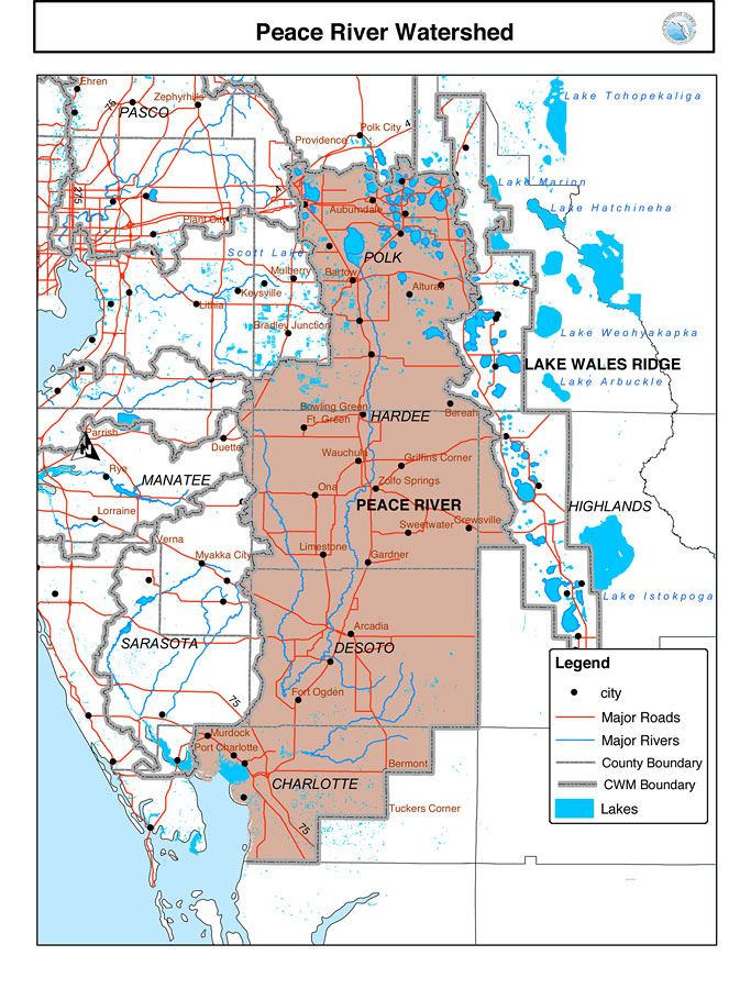 Florida Rivers Map.Eco Voice Daily Digest Jan 14 2019