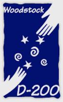 D200 Logo on Gray
