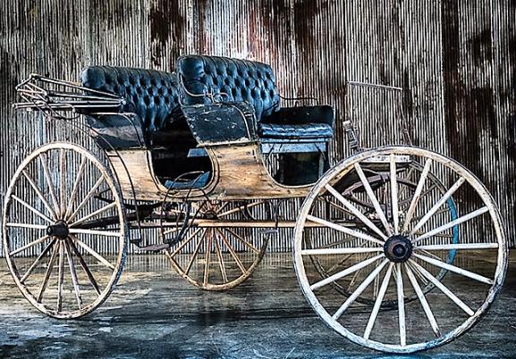 john deere carriage