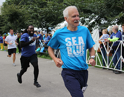 SEA Blue for Men's Health Month and Global Running Day