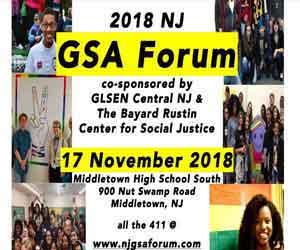 New Jersey GSA Forum banner ad