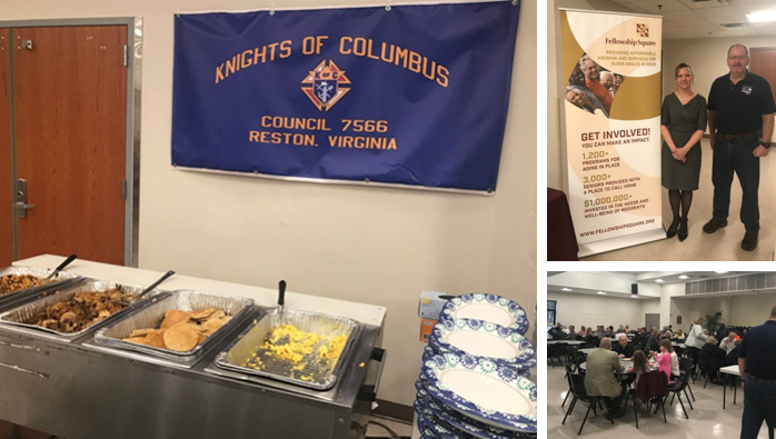 Knights of Columbus event collage