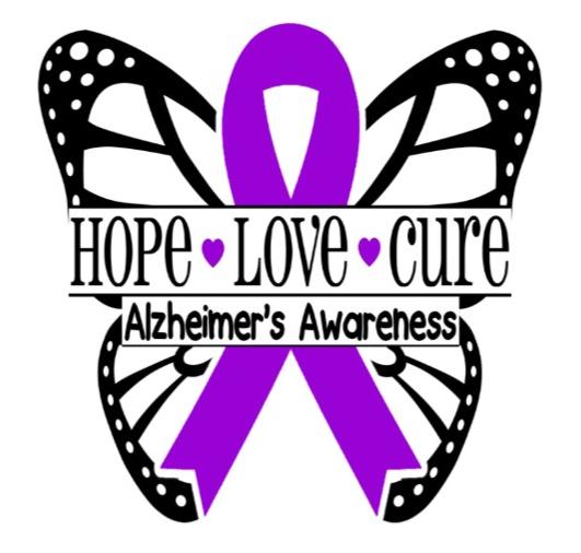 Alzheimer butterfly logo
