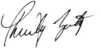 Christy Zeitz signature