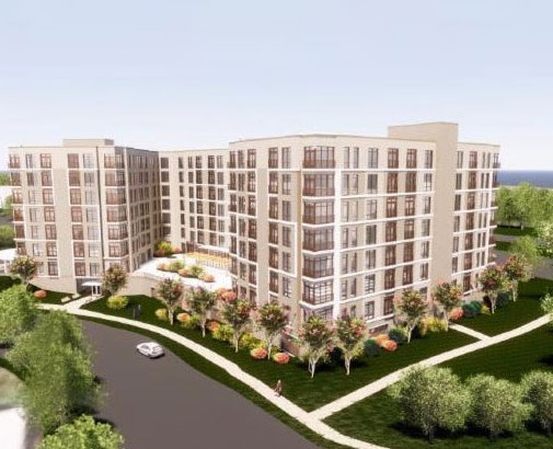 artist rendering of Lake Anne project