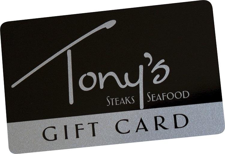 Tony's Gift Card