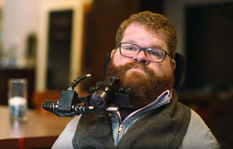 Todd Stabelfeldt is featured in NBC news story about smart home technologies and people with disabilities