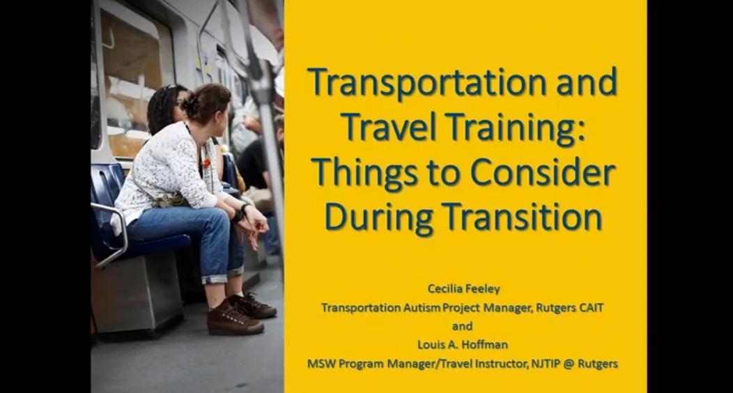 NJ FSC Transportation Webinar Title Slide