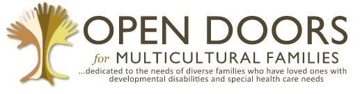 Open Doors for Multicultural families logo