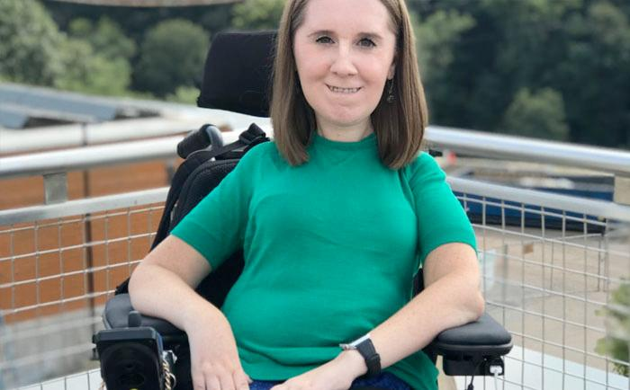 Heather Tomko, RAISE Blog author of Taking Charge of Independence