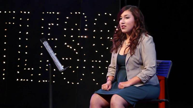 Naty Rico's TED Talk, she shares her perspective as she works toward identifying as a person with a Naty Rico shares her perspective as she works toward identifying as a person with a disability.