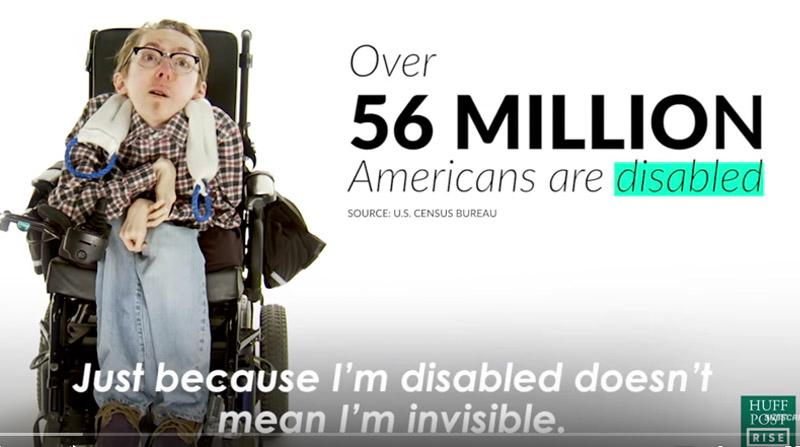 #cripthevote title screen grab of video on disability incedence and rights