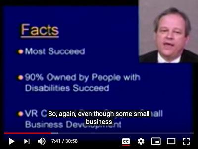 Cary Griffin Self Employment Video screen grab